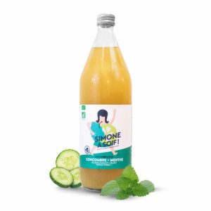 Cucumber Mint 6x1L Fruity water BIO
