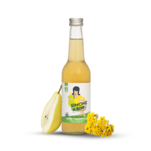 Poire + Immortelle 12x33cl – BIO