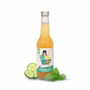Cucumber Mint 12x33cl Fruity water BIO