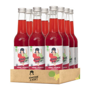 Cherry + Hop 12x33cl – Organic fruity water