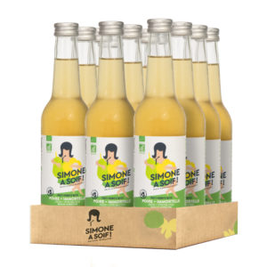 Pear Everlasting 12x33cl – Organic fruity water